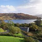 Panoramic view of Loch Bracadale and  Struan by Terry Senior