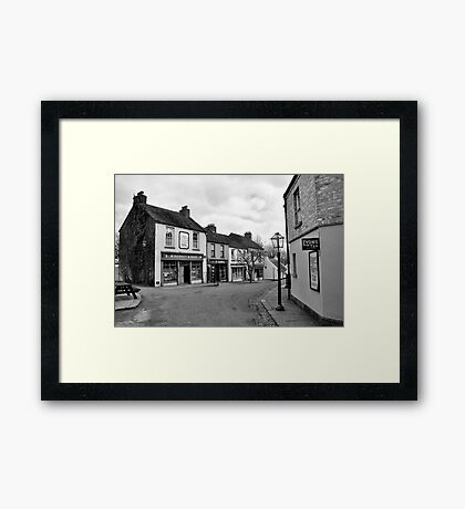 A step back in time... Framed Print