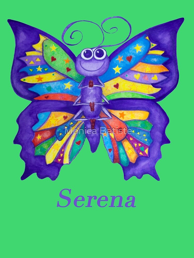 A Yoga Butterfly for Serena by Monica Batiste