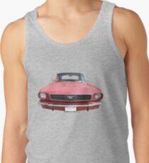 Red 66 Mustang Tank Top
