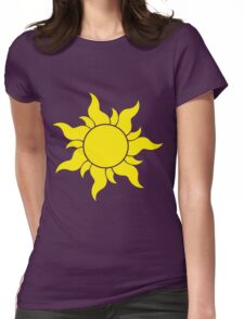 Tangled Sun Womens Fitted T-Shirt