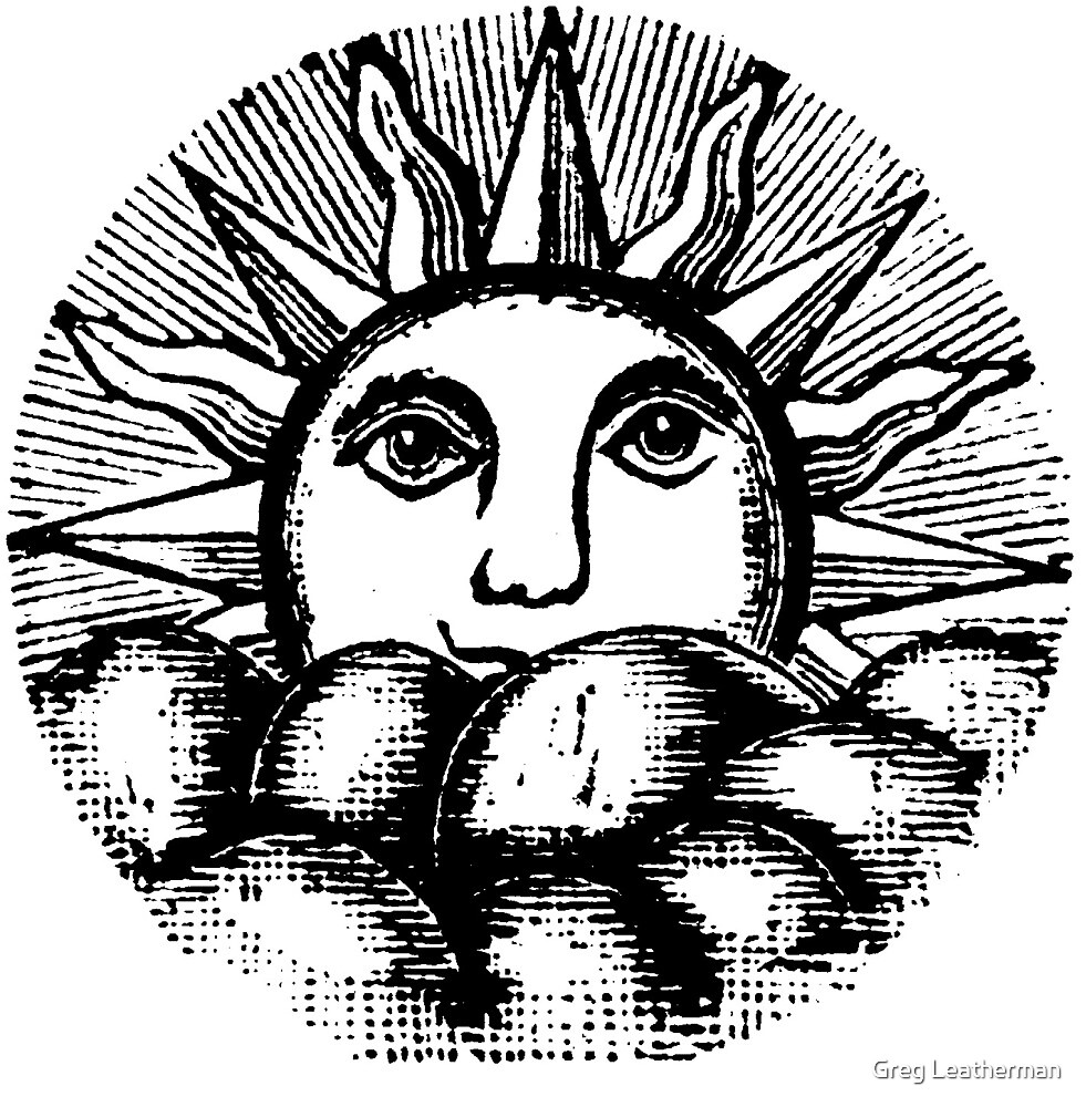Masonic Sun by Greg Leatherman