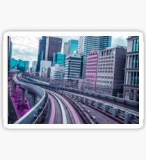 Tokyo - Aeon Flux Glossy Sticker