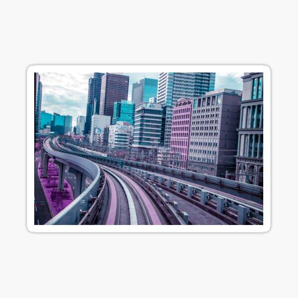 Tokyo - Aeon Flux Sticker