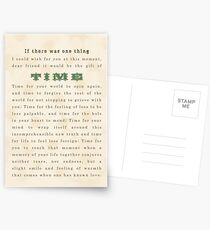 Sympathy Card - Time Postcards