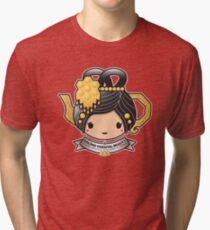 Oolong Oriental Beauty Teapot Tri-blend T-Shirt