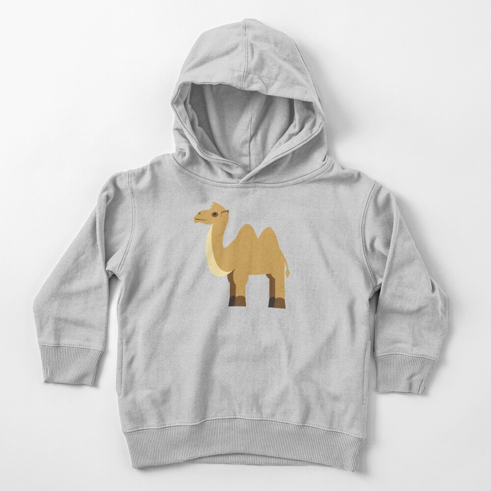 Camel Toddler Pullover Hoodie