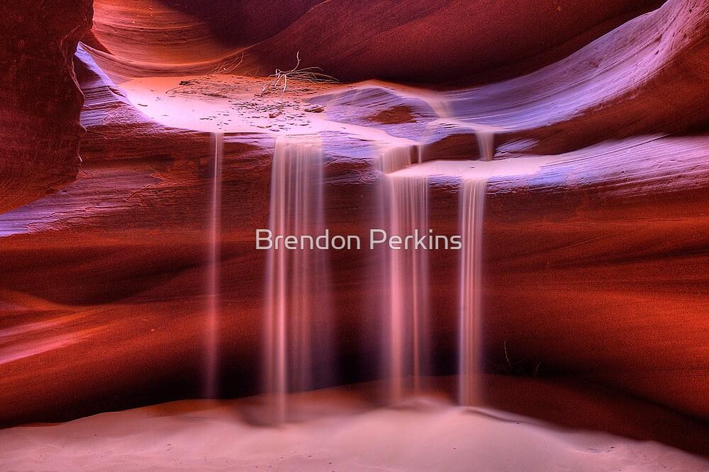 Sandfall (Antelope Slot Canyon, Page, Arizona) by Brendon Perkins