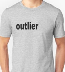 Outlier moved off the Center for Statisticians T-Shirt