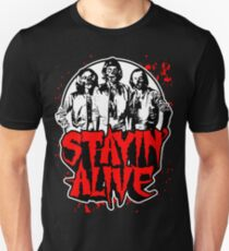 Stayin' Alive 2 (Zom-Bee Gees) Unisex T-Shirt