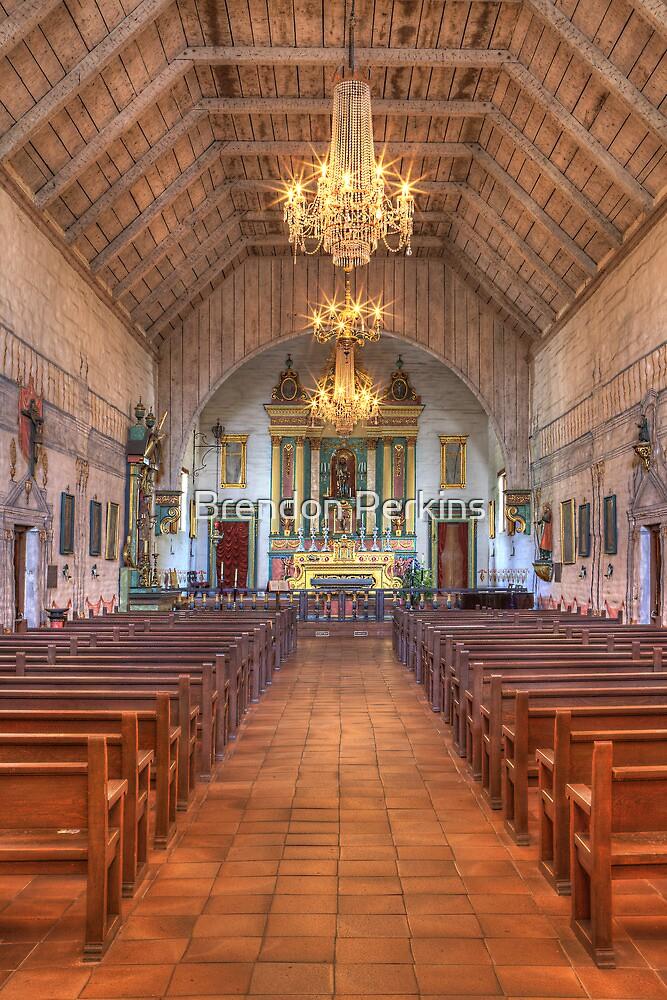 Mission Altar (San Jose Spanish Mission, California) by Brendon Perkins