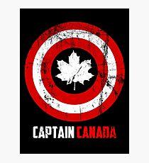 Captain Canada Photographic Print