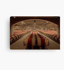 Wine Cellar (Robert Mondavi Winery, Napa Valley, California) Canvas Print