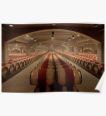 Wine Cellar (Robert Mondavi Winery, Napa Valley, California) Poster