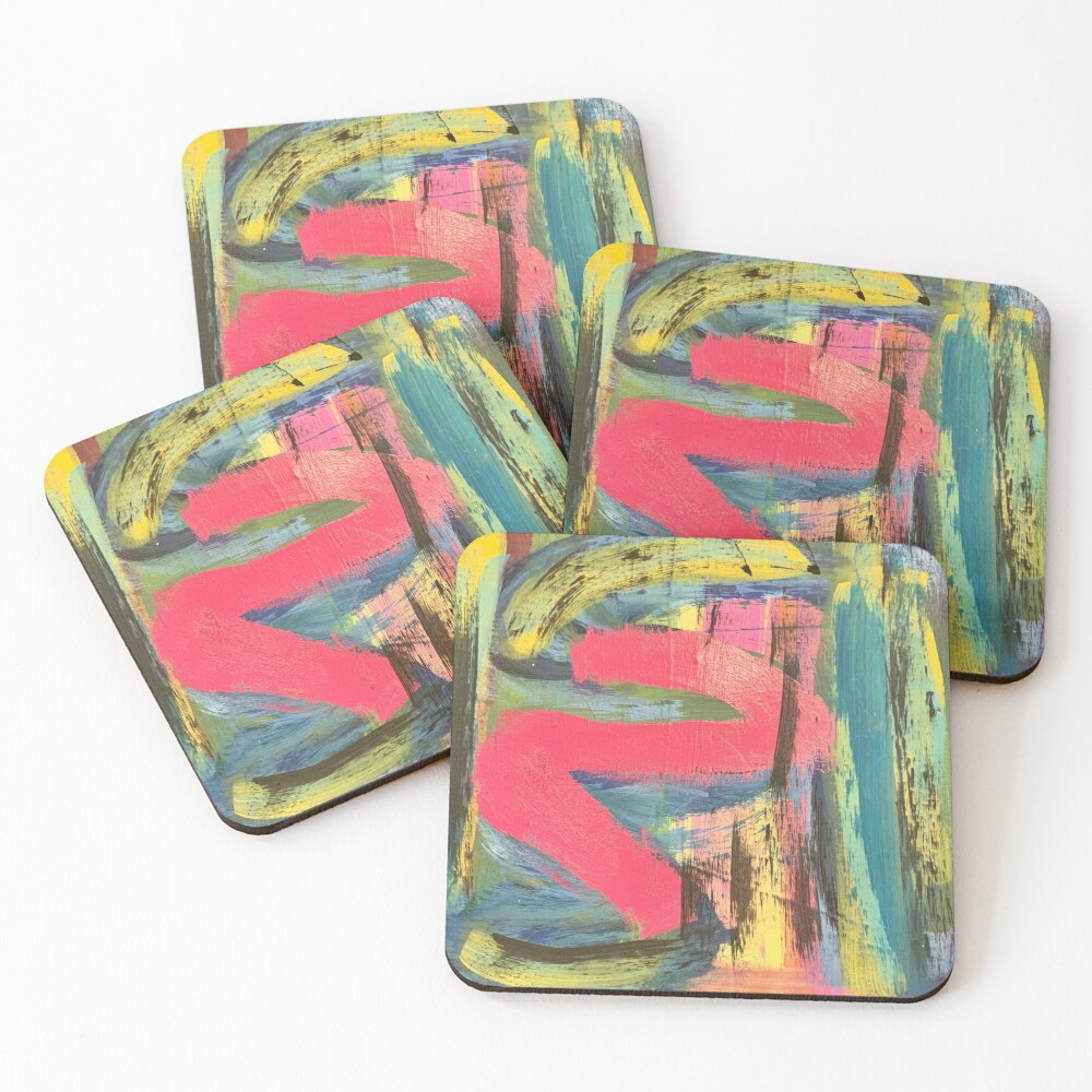 The Shimmering of Hope Coasters (Set of 4)