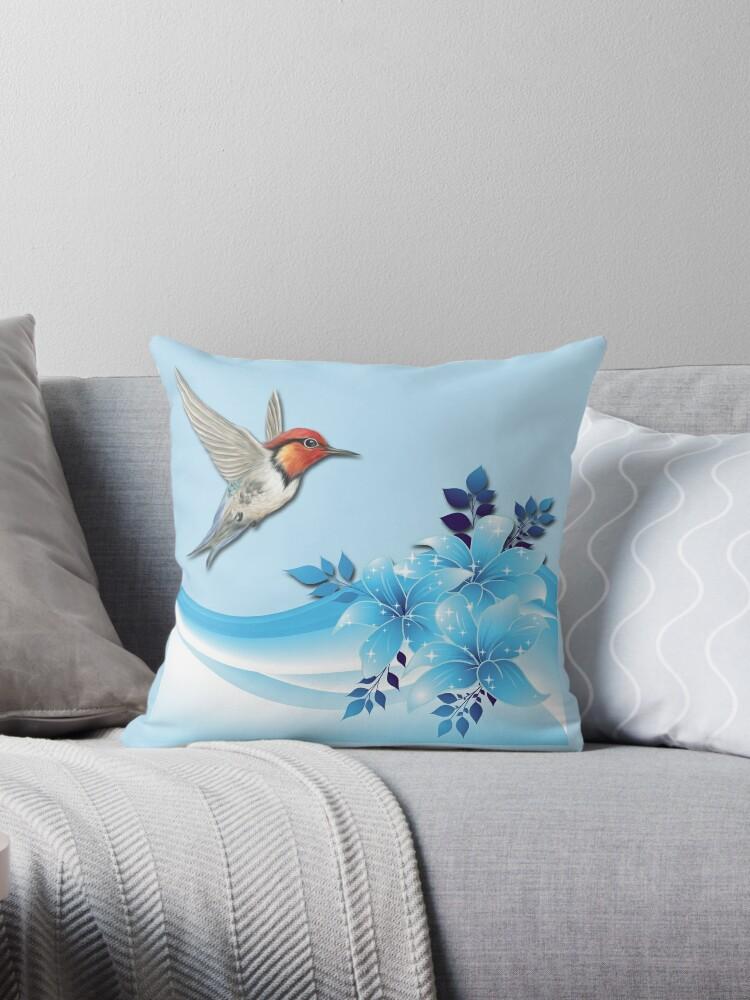 Blue Hummingbird Garden by Delights