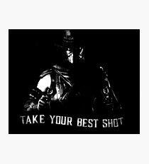 Mortal Kombat Erron Black Photographic Print