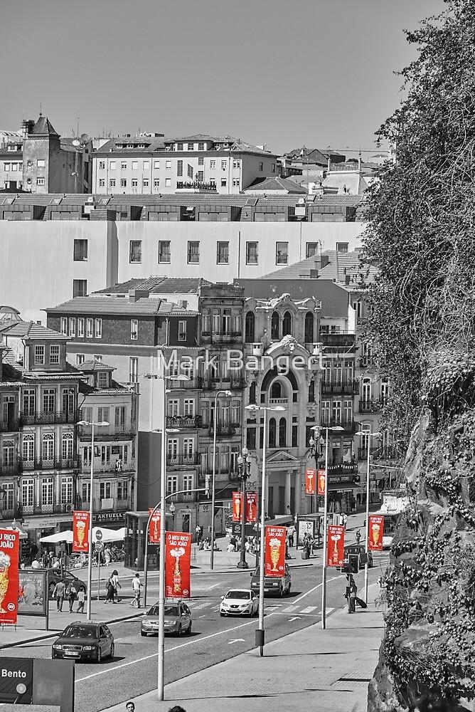 Porto Street Scene by Mark Bangert