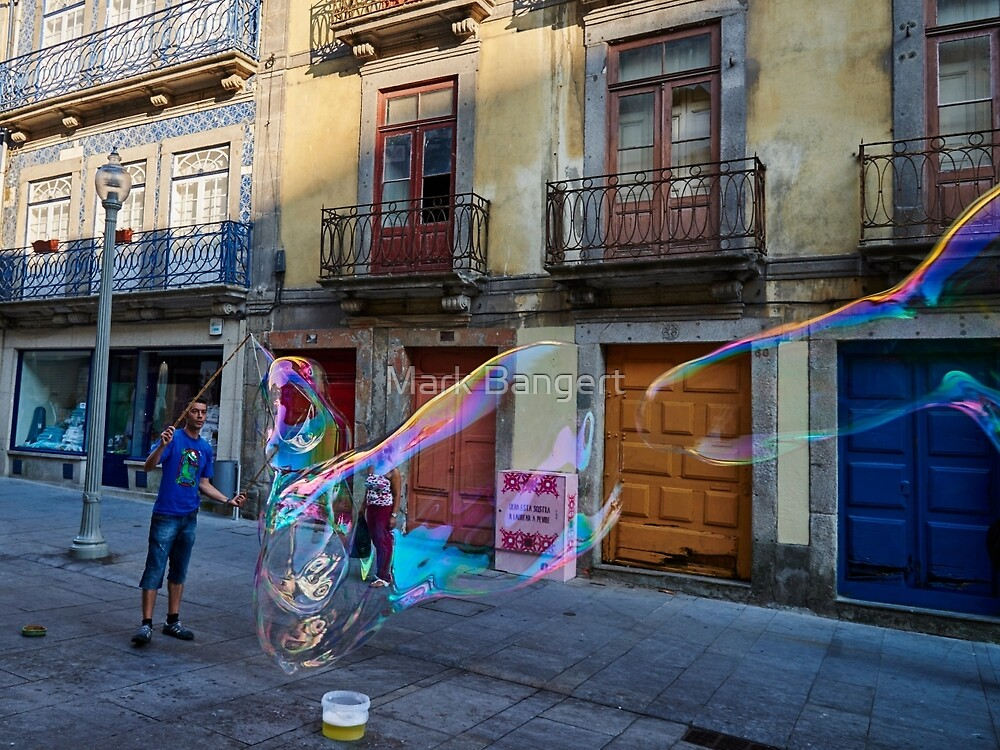 Porto Bubbles by Mark Bangert