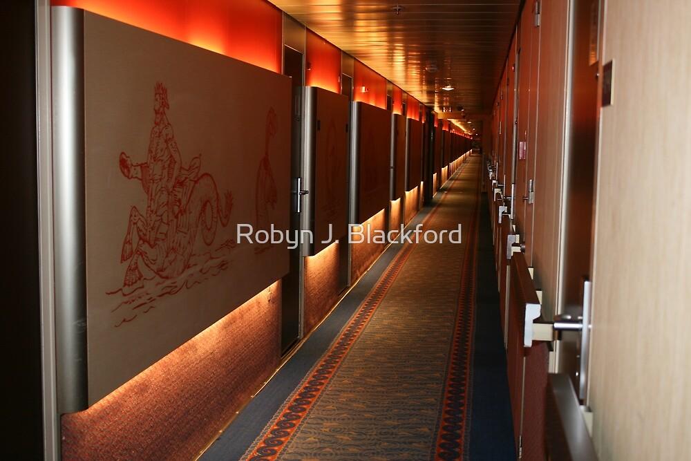 E Deck Corridor at 1:24AM by aussiebushstick