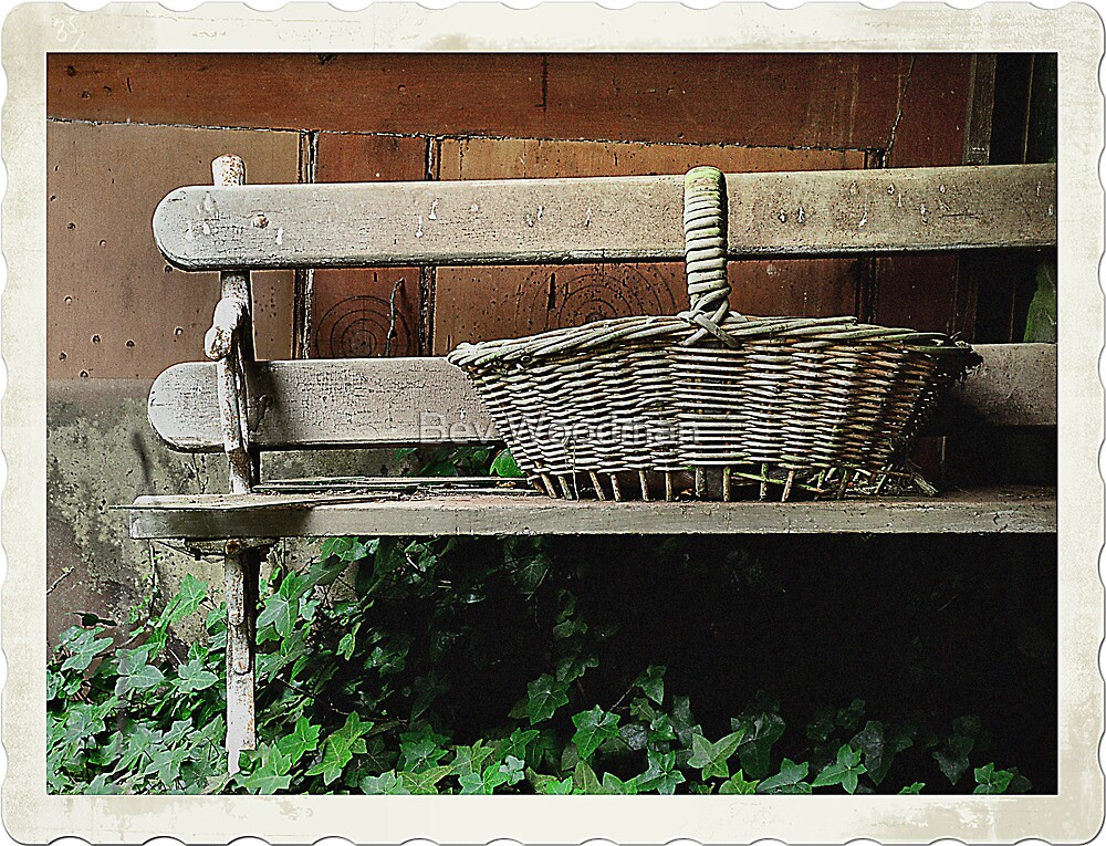 Bench of Memories - Wynstay - Mt Wilson NSW Australia by Bev Woodman