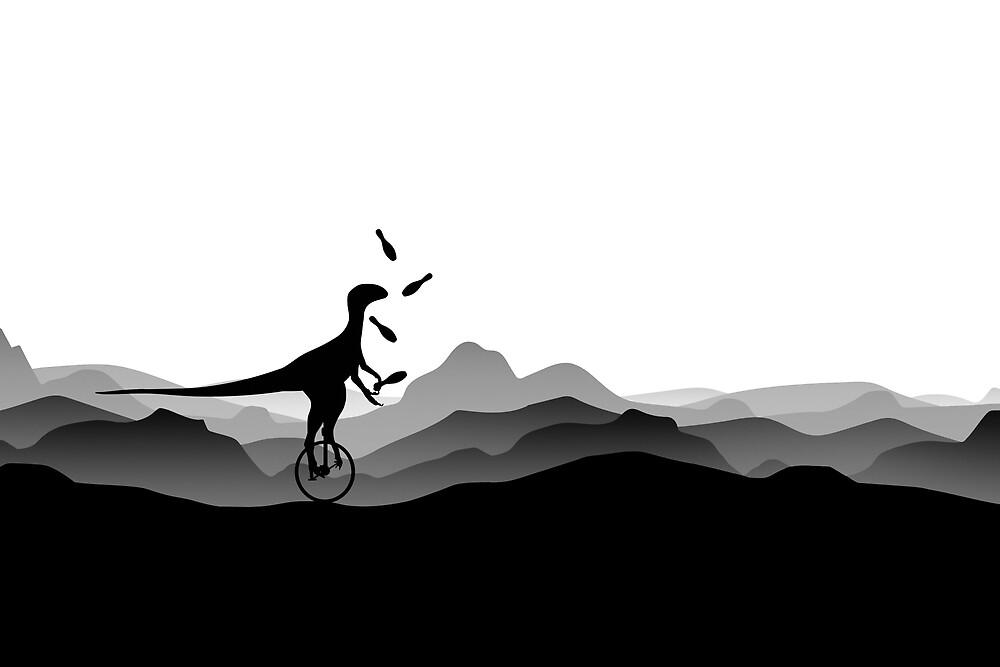 DINO CIRCUS - DINOSAUR AT THE CIRCUS - Dino collection by 11pixeli