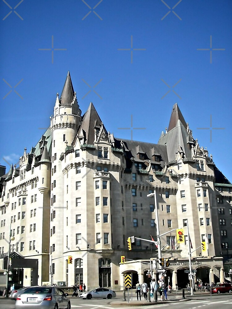 The  Fairmont Chateau Laurier Hotel, Ottawa, ON Canada by Shulie1