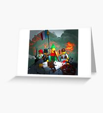 14 juillet: Liberty on the Barricades Greeting Card