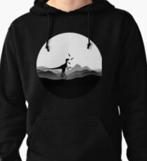 DINO CIRCUS - DINOSAUR AT THE CIRCUS - Dino collection Pullover Hoodie