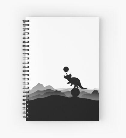 DINO CIRCUS - DINOSAUR AT THE CIRCUS - Dino collection Spiral Notebook