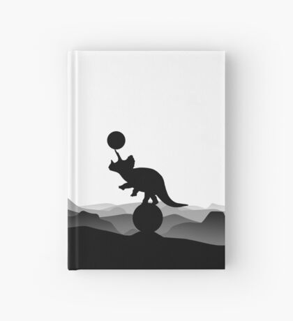 DINO CIRCUS - DINOSAUR AT THE CIRCUS - Dino collection Hardcover Journal