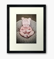Sleeping. Framed Print