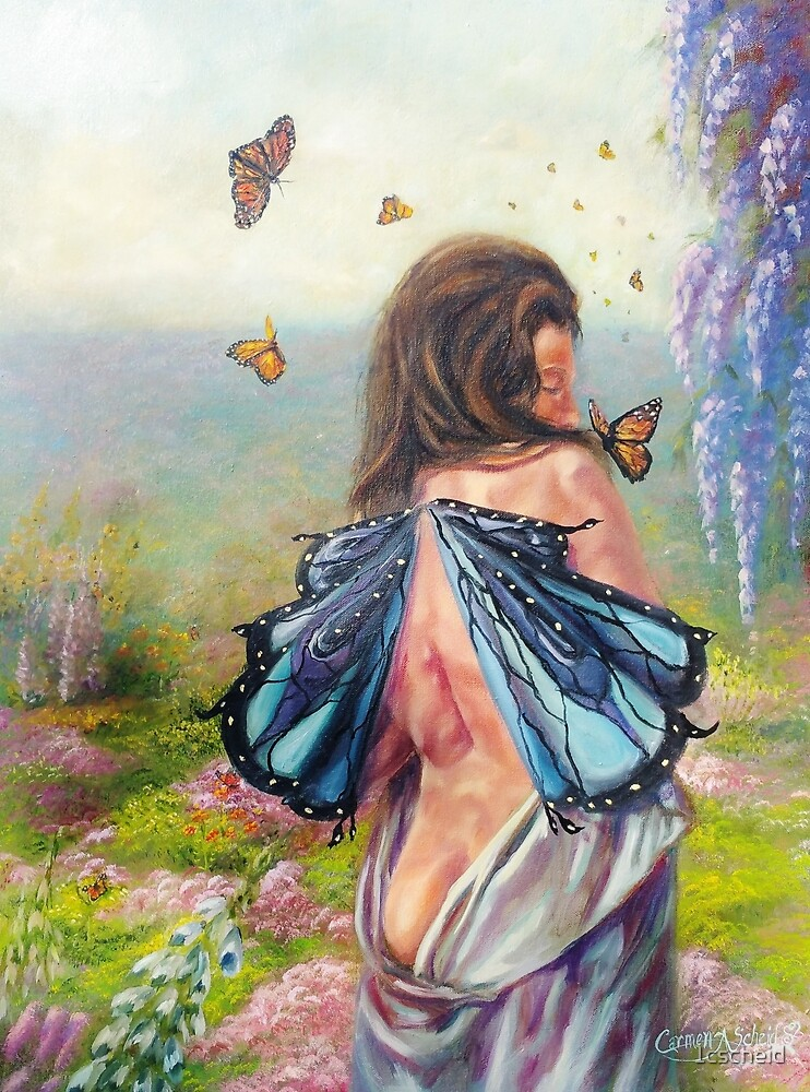 With the Monarchs Butterfly Fairy by 1cscheid