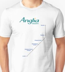 I'm Alan Partridge – Alan's Train to London T-Shirt