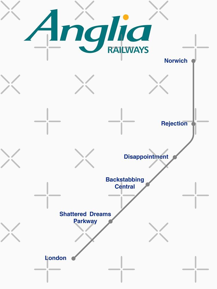 I'm Alan Partridge – Alan's Train to London by PonchTheOwl