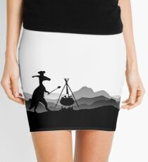 DINO COOK - Dinosaur Cooking Mini Skirt