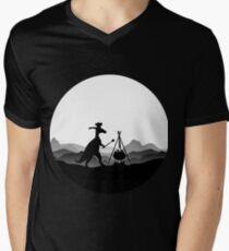 DINO COOK - Dinosaur Cooking V-Neck T-Shirt