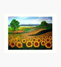 Flowers of Joy Art Print