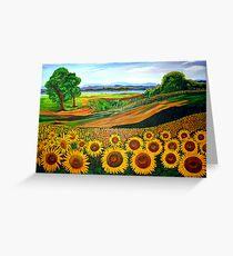 Flowers of Joy Greeting Card