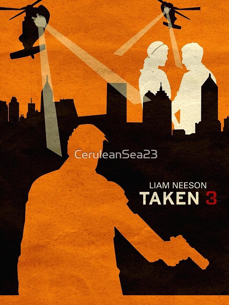 Taken 3 Minimalist Poster by CeruleanSea23