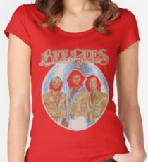 Bee Gees DISCO BALL Women's Fitted Scoop T-Shirt