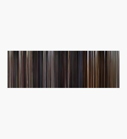 Moviebarcode: Back to the Future Trilogy (1985-1990) Photographic Print