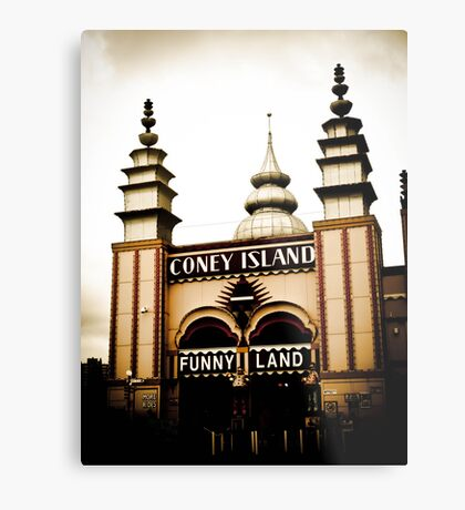 CONEY ISLAND Metal Print