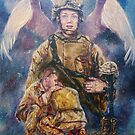 Fallen Soldier Angel Print by 1cscheid