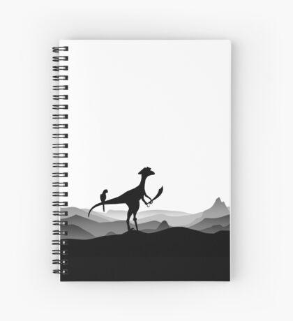 DINO PIRATE - PIRATE DINOSAUR - YARRR - Dino Collection Spiral Notebook