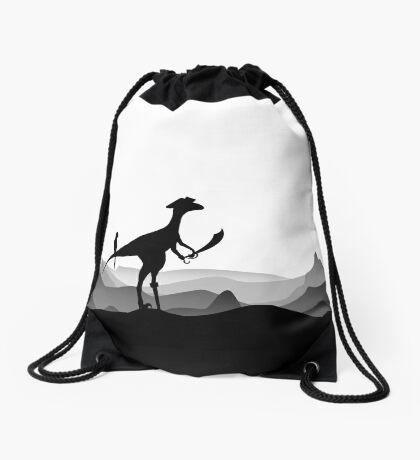DINO PIRATE - PIRATE DINOSAUR - YARRR - Dino Collection Drawstring Bag