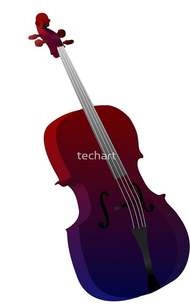 Colour Cello  by techart