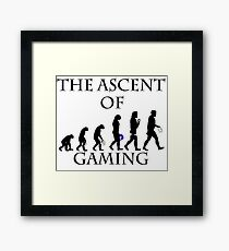The Ascent of Gaming Framed Print