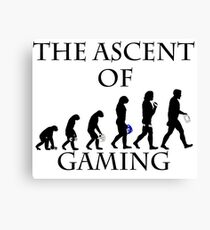 The Ascent of Gaming Canvas Print