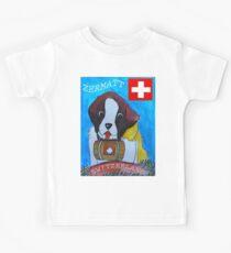 St Berbard Switzerland Kids Tee